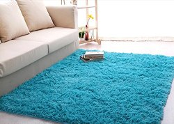 Ultra Soft 4.5 Cm Thick Indoor Morden Area Rugs Pads, New Arrival Fashion Color