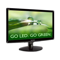 ViewSonic VA2037M-LED 20 inch LED-lit LCD Monitor, 16:9, 5ms, Speakers