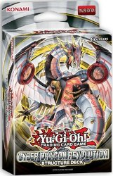 Yugioh TCG Trading Card Game Cyber Dragon Revolution Structure Deck – 42 cards