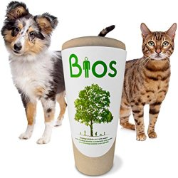 Bios Memorial Pet Loss Urn for your Dog, Cat, Bird, Horse or Small Animal