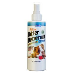 Bitter Apple Spray For Dogs & Cat Deterrent PRO Training Aid for Destructive Pets from Petseer