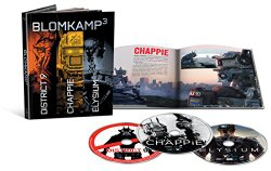 Blomkamp Limited Edition Collection (Chappie / District 9 / Elysium + Included Digibook) [Blu-ray]