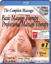 Complete Massage Pack plus Free Relaxation Music CD (3 movie /1 CD) [Blu-ray]