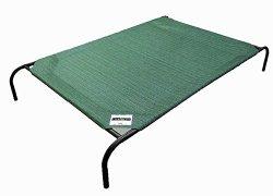 Coolaroo Elevated Pet Bed Large Brunswick Green