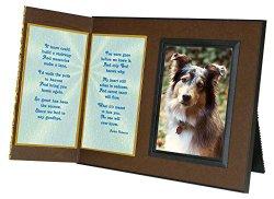 Poem Pet Loss Sympathy Picture Frame Gift and Memorial Keepsake