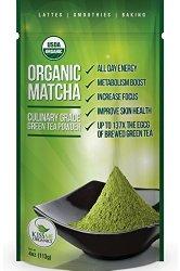 Kiss Me Organics – Matcha Green Tea Powder – ORGANIC – All Day Energy