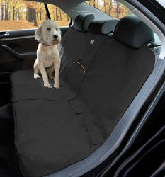 Kurgo Bench Seat Cover for Pets, Black