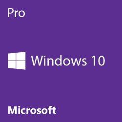 Microsoft Windows 10 Pro 64 Bit System Builder OEM – PC Disc