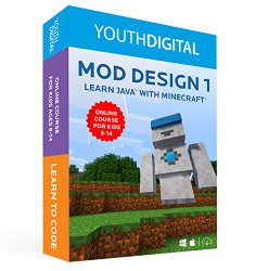 Mod Design 1 – Kids Ages 8-14 Learn to Code in Java with Minecraft ® (PC & Mac)