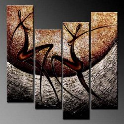 Phoenix Decor Elegant Modern Canvas Art for Wall Decor Home Decorations-abstract Oil Paintings