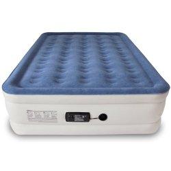 SoundAsleep Dream Series Air Mattress with ComfortCoil Technology & Internal High Capacity Pump – Queen Size