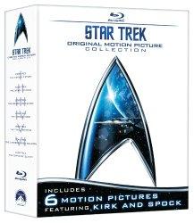 Star Trek: Original Motion Picture Collection (Star Trek I, II, III, IV, V, VI) [Blu-ray]