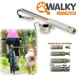 Walky Dog Plus Hands Free Dog Bicycle Exerciser Leash 2015 Newest Model