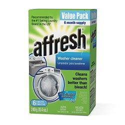 Whirlpool – Affresh Washer Machine Cleaner, 6-Tablets, 8.4 oz