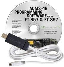 Yaesu ADMS-4B Programming Software for FT-857D & FT-897D