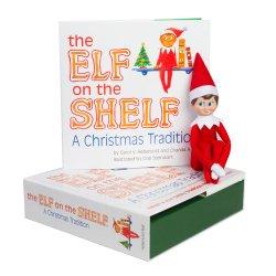 Elf on the Shelf:A Christmas Tradition (light boy scout elf)