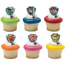 PAW Patrol Ruff Ruff Rescue Cupcake Rings – 24 pcs