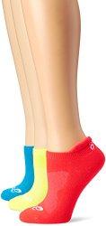 ASICS Women's Cushion Low Cut Sock (Pack of 3)