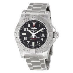 Breitling Men's BTA1733110-BC31SS Avenger II Seawolf Analog Display Swiss Automatic Silver Watch