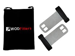 WODFitters Textured Leather Hand Grips for Cross Training WODs