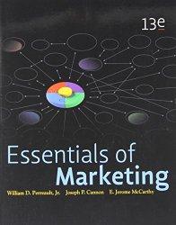 Essentials of Marketing, 13th Edition