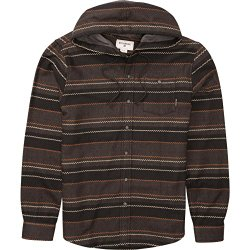 Billabong Boys' Ziggy Kids' Flannel Black 4S