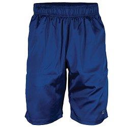 Fila Boy's Camo Tennis Shorts, Blue Depths, Safety Yellow, XL