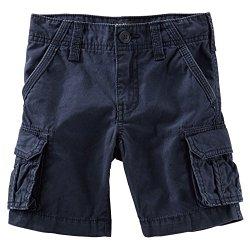 OshKosh B'gosh Big Boys' Cargo Shorts (Toddler/Kid) – Navy-10