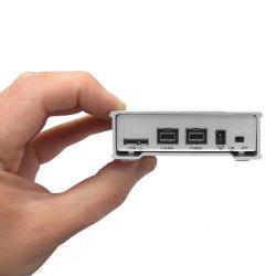 MiniPro 1TB External FireWire 800, USB 3.0 Portable Solid State Drive SSD