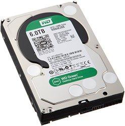 WD Green 6TB Desktop Hard Drive: 3.5-inch, SATA 6 Gb/s, IntelliPower, 64 MB Cache WD60EZRX