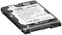 Western Digital 750 GB WD Black SATA III 7200 RPM 16 MB Cache Bulk/OEM Notebook Hard Drive WD7500BPKX