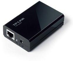 TP-LINK TL-PoE150S Gigabit PoE Injector Adapter, IEEE 802.3af compliant, Up to 100 meters (328 Feet)