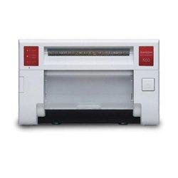 Mitsubishi CP-K60DW-S Dye Sublimation Color Photo Printer, 11.4 Sec Print Time, 300 DPI, USB 2.0, Up to 320 Print Capacity (10x15cm)