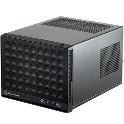 Silverstone Tek Mini-DTX, Mini-ITX Small Form Factor Computer Case with Mesh Front Panel Cases SG13B