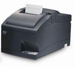 Star Micronics SP700 SP742 Receipt Printer. SP742MD IMPACT FRICTION CUT SER GRY INT UPS ORDER CABLE XTRA RP-IR. 4.7 lps Mono – 203 dpi – Serial