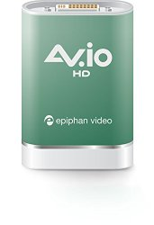 AV.io HD – Screen Capture for HDMI, DVI, VGA video. 60 FPS, USB 3.0. 100% Lossless Quality Video Grabber. Ultra Reliable.