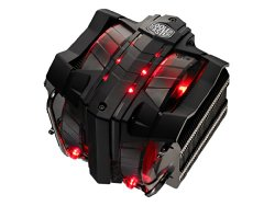 Cooler Master V8 GTS – High Performance CPU Cooler with Horizontal Vapor Chamber and 8 Heatpipes