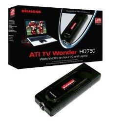 Diamond Multimedia TV Wonder 750 USB TV Tuner. DIAMOND TV WONDER 750 USB HD NTSC PAL SECAM TV TUNER TUNER. USB – PAL, ATSC, SECAM, DVB, NTSC