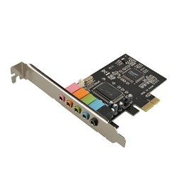 Generic PCI Express 5.1 PC Sound Card 6 Channel Surround 3D Audio CMI8738