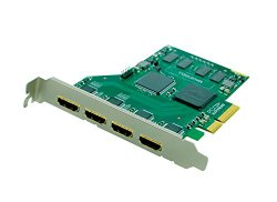 Quad HD HDMI / 3D Video Capture Card -1.4a