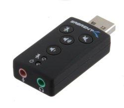 Sabrent External Sound Box USB-SBCV