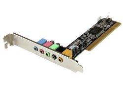StarTech.com 5.1 Channel PCI Surround Sound Card Adapter PCISOUND5CH2