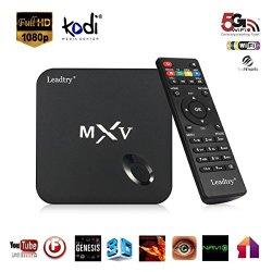 TV BOX Leadtry® MXV MX V MX 5 XBMC Kodi Quad Core Bluetooth Android Smart TV Box Media Player HDMI