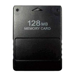 Buyee 128MB Memory Card Game Memory Card for Sony Play Station 2 PS2