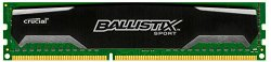Crucial Ballistix Sport 8GB Single DDR3 1600 MT/s (PC3-12800) CL9 @1.5V UDIMM 240-Pin Memory BLS8G3D1609DS1S00