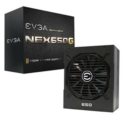 EVGA SuperNOVA 650 G1 80+ GOLD, 650W Continuous Power,  Fully Modular 10 Year Warranty Power Supply 120-G1-0650-XR