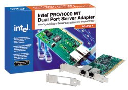 Intel PWLA8492MT PRO/1000 MT PCI/PCI-X Dual Port Server Adapter