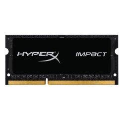 Kingston HyperX Impact Black 8GB 1600MHz DDR3L CL9 SODIMM 1.35V Laptop Memory (HX316LS9IB/8)