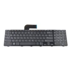 Replacement for Dell Inspiron 17R N7110/Vostro 3750/XPS 17 L702X Laptop Keyboard US Layout Without Backlight