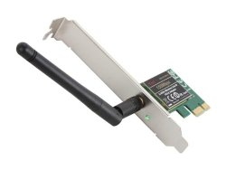 Rosewill IEEE 802.11b/g/n PCIE 2.0 Wireless Adapter Upto 150Mbps Wireless Data (RNWD-11011)